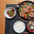 焼肉定食・・・380円。 大衆食堂炊屋の夏の日替わりメニュー・・・あつ~~~い !