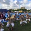 """全島エイサー祭り&オリオンビールフェスタへ~♪"""""""