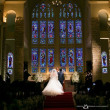 厳かでやさしい光に包まれるチャペルで誓う愛 @マリゾンで結婚披露宴撮影