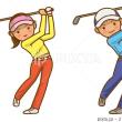 ゴルフに行く