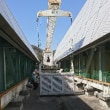 昨日は屋上ゴンドラの塗装工事の見積りでした。