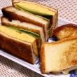 サンドイッチ&鯵フライ