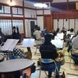 先日のオーケストラ千里山の練習(3月11日)