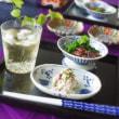 春の和食・オリーブと桜の白和え(^ω^)・・・