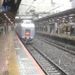 【引退決定】E351系スーパーあずさ15号 雪の国分寺駅を通過