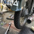 カブ改造日記19:タイヤ交換