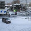 ① 雪の朝