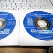 ノートPC納品前に更新&初期設定などの処理してます。