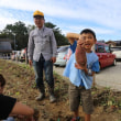 吉浜北部保育園「親子芋ほり体験」