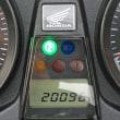 CB1300SB車検入り