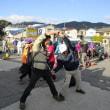 ② 小茶臼山~高峠山~大茶臼山縦走登山 : 準備体操