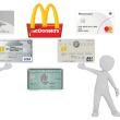 マクドナルドでクレジットカード