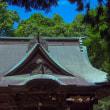 城址公園内の神社~初詣に訪れる人は