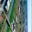 越谷レイクタウンを見下ろす展望塔