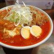 旨辛タンメン ファイヤーマウンテン@亀有 「ファイヤー頂野菜麻婆(麺1玉)&冷やし醤油タンメン」