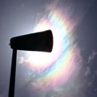 今日の彩雲