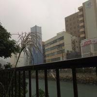 またしても雨