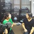 熊本県民テレビのテレビタミンさん取材