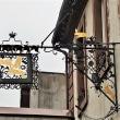 独・ミッヒェルシュタットの町と吊り看板(1)