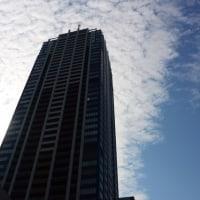 10月12日、午後1時過ぎの空模様