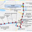 アジア大会の聖火リレーで始まった首都ジャカルタで一部通行止め!