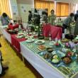調理技術専門学校の展示会