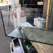 中古 オルカ 900×450×450オールガラスオーバーフロー水槽