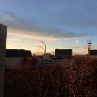 夕焼け雲が綺麗だな