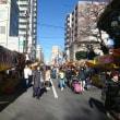 今日は調神社の12日まちで浦和は大賑わい