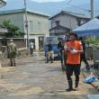 被災地、野村での自衛隊員に感動