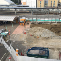 東長崎駅南口の西友解体工事は、そろそろ終了。