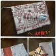 手帳カバー<2018>&ポーチ作成