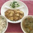 マーボー豆腐&人参レーズンケーキ♪♪