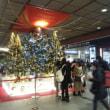 金沢駅にXmasツリー・・・