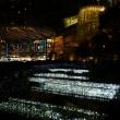 六本木ヒルズ 毛利庭園のクリスマスイルミネーション