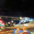 外環道工事の橋桁、目白通りを一跨ぎ