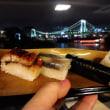 隅田川からお台場に浮かぶSUSHI屋さん『Suship』送迎は絶景ミニクルーズ