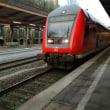 ドイツ(Germany): jumps in front of train