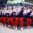 北朝鮮美女応援団(2月12日)(2月12日更新)