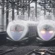 雨と新幹線