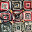 モチーフ編みの途中