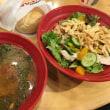 ZUPASのスープとサラダとパン