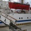 東播磨港に接岸中の 「大型練習帆船・日本丸」 を見物に出掛ける・・・