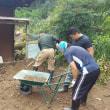 台風18号災害復興のお手伝い。