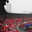 雨天中止 ・・・ CSファィナル第4戦
