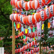 無数の奉納提灯 (伊勢市・猿田彦神社)