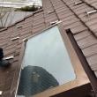 天窓の網入りガラス修理