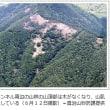 鹿の食害も一因?トンネル規制続く…雨で土砂流出。鳥取県の国道53号線智頭トンネル