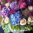 紫陽花&お気に入りのバラで季節の花贈り)^o^(