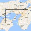 グリッドロケータの範囲が判る地図